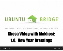 Xhosa Lessons with Makhosi 1.0. Happy New Year