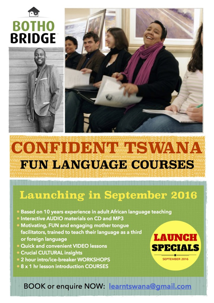 Learn Tswana flyer