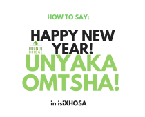 VIDEO:  How to say Happy New Years in isiXhosa