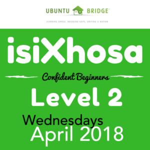 Xhosa Level 2 Apr 2018 weekly
