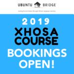 2019 Course Bookings