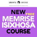 Learn Xhosa on Memrise
